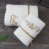 2019 Bathroom Towel Set Wedding Customized Logo and Lace Gifts Towel