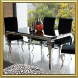 Modern Dining Room Furniture French Louis Dining Table and Chair