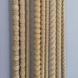 Wooden Beeding/Plain/Margin/Half Round/White Taper Beeding/2901, 2903, 2907
