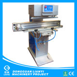 Transverse Ink Cup One Color Pad Printing Machine for Wooden Ruler