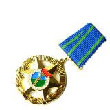 Custom Wholesale/Metal/Button/Pin/Tin/Police/Military/Emblem/Name/Enamel/Medal Badge (YB-p-014)