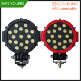 Cheap 51W LED Work Light Waterproof for Tractor Autos Truck Roof Top LED Work Light