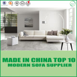 White Modern Sectional Office Sofa Italian Leather Sofa Bed