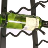Black Hanging Metal Wall Mount Wall Mounted Wine Rack