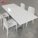 Modern Round White Solid Surface Dinner Table (T1711201)