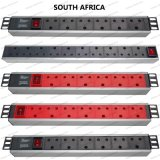 19 Inch South Africa Type Universal Socket Network Cabinet and Rack PDU