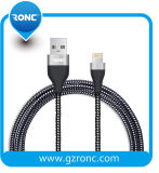 Best Selling 1m Copper Nylon Braided USB Data Cable for iPhone