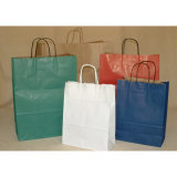 Colorful Kraft Paper Shopping Bag