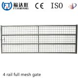 Galvanized Goat Iron Fencing Temporary Fence Panel with Mesh