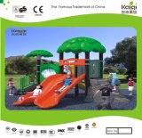 Kaiqi Small Forest Themed Children′s Slide Set for Playground (KQ35035A)