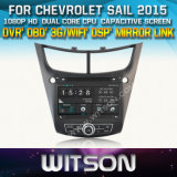Witson Car DVD Player for Chevrolet Sail 2015