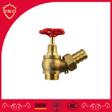 Oblique Water Shutoff Valve for Fire-Fighting