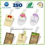 2017 Top Quality Colorful Tag Paper Printed Color Hang Tag for Gardening Tool (jp-011)