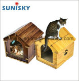 Cat House Corrugated Cardboard Cat Scratching Board with Sisal Scratcher