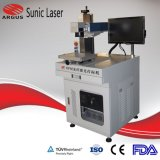 10W 20W Cheap Mini Metal Optical Fiber 3D Laser Marking Engraving Etching Machine with Rotary Device