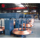 5000 Tons/Year 12mm Copper Rod Wire Continuous Upcast Machine