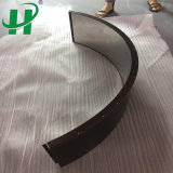 Curved Aluminum Honeycomb Sandwich Panels for Decorative Sheet and Facade Board