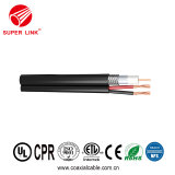 Superlink Manufacture CATV & CCTV Communication RG6 Rg59 Rg11 Composite Siamese Coaxial Cable