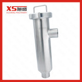 "4"" Stainless Steel 316L Hygienic Angle Filter Strainer with Perforated Plate Screen"
