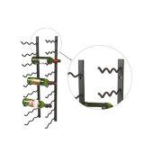 Display Metal Wall Wire Shelf with Wine Rack 12 Bottle