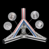 Building Kit System Aluminium Price Per Kg Machine Assembly Line Aluminum Profile Extrusion 4040 T Slot