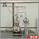 Extract Plant Extractor Extraction Herb Rose Lavender Essential Oil Distiller Equipment Machine with Distillation Tank Column