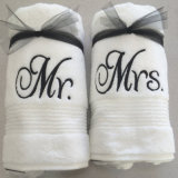 Custom Embroidered Personalized Towel Set Great Wedding, Bridal Shower or Engagement Gift Mr. and Mrs. Bath Towel Set
