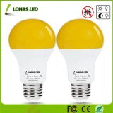 Africa America Market Popular A19/A60 6W Mosquito Repellent Lamp LED Yellow Bug Light Bulb