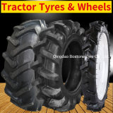 Bostone 11.2-20 13.6-28 8.3 14.9-24 18.4-30 34 38 23.1-30 405/70-20 Agricultural Farm Tractor Tyres Paddy Tires with Tube with R1 R2 Pr-1 Pattern