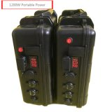 Cts Multifunction 1200W Portable Lithium Ion 12 Volt Battery Power Station
