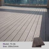 Easy Installation Low Maintenance WPC DIY Tiles, WPC Outdoor DIY Flooring, Wood Plastic Composite Decking