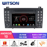 Witson Quad-Core Android 10 Car DVD GPS for Mercedes-Benz Slk200/Slk280/Slk350/Slk55 2004-2012 Support Full Video Output to Sub-Monitor Like Mirror Link