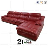 Office Furniture L Shape Leather Modular Corner Sofa Set