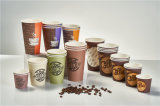 Sustainable Single-Use 100% Biodegradable and Compostable Coffee Paper Cups