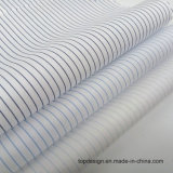 Stock Fabric 140s/2 Stripe 100 Cotton Fabric Prices