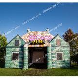 26.5X17X17FT Inflatable Irish Pub Tent, Backyard Irish Inflatable Pub House, Hot Carnival Inflatable Bar Tents for Sales