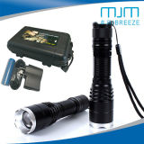 High Quality 10W Strong Light Aluminium Alloy LED Flashlight &Rechargeable Torch
