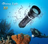 Latest Products in Market X8 CREE Xm-L2 U2 Search and Rescue LED Downlight