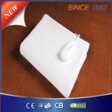 100% Polyester Electric Heated Blanket with 4 Adjustable Heat Settings