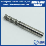4 Flute High Precision Solid Carbide End Mill for Cutting Machine Tools