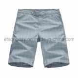 Fashion Style 100% Cotton Men's Plaid Shorts (JHB-01)