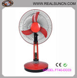 "16"" DC Fan Rechargeable Table Fan, Solar Fan"