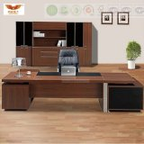 Modern Office Furniture Wooden L Shape Executive Desk (HY-896)