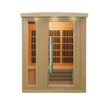 3 People Solid Wooden Infrared Sauna Sauna Room