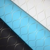 Weave Line PU Leather, Nonwoven Backing Decorative Leather