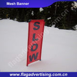 Durable 100% Polyester Custom Advertising Fence Mesh Flex Banner Price