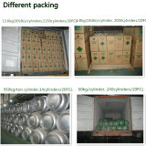 Ton Cylinder Packed Refrigerant Gas R22 with High Purity