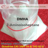 100% Pure 1, 5 Dimethylhexylamine Dmha CAS 5984-59-8 Octodrine 543-82-8 for Health Supplement