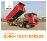 Low Price Excellent Condition Used HOWO Dump Trucks 375 HP 8X4 Tipper for Africa
