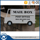 Powder Coated Galvanzied Steel Bus design Funny Mailbox